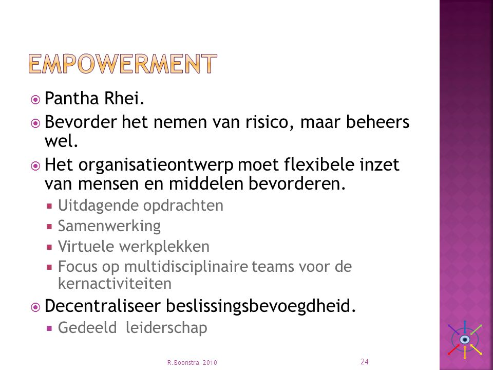 Empowerment Pantha Rhei.