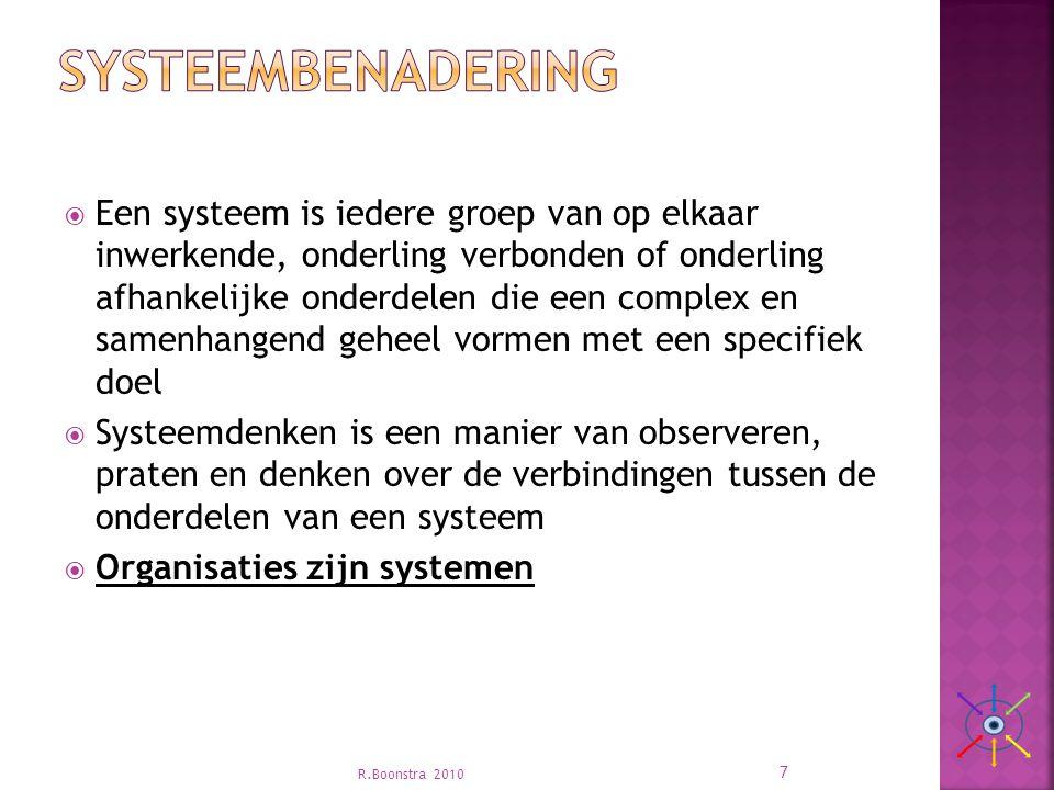 Systeembenadering