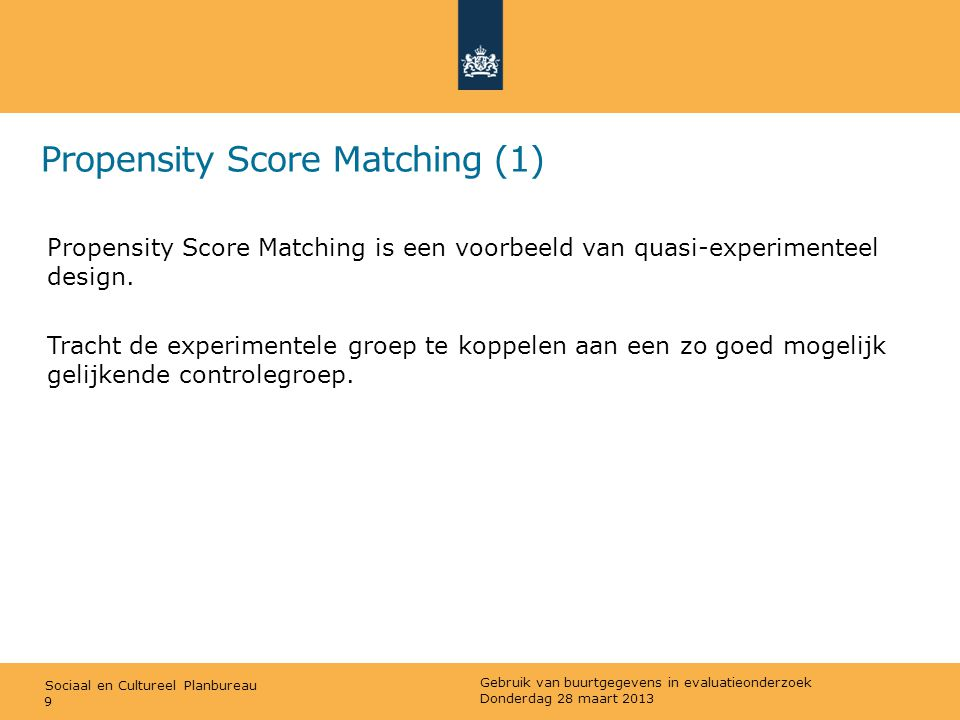 Propensity Score Matching (1)