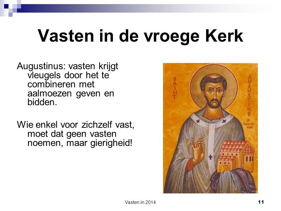 Vasten in de vroege Kerk