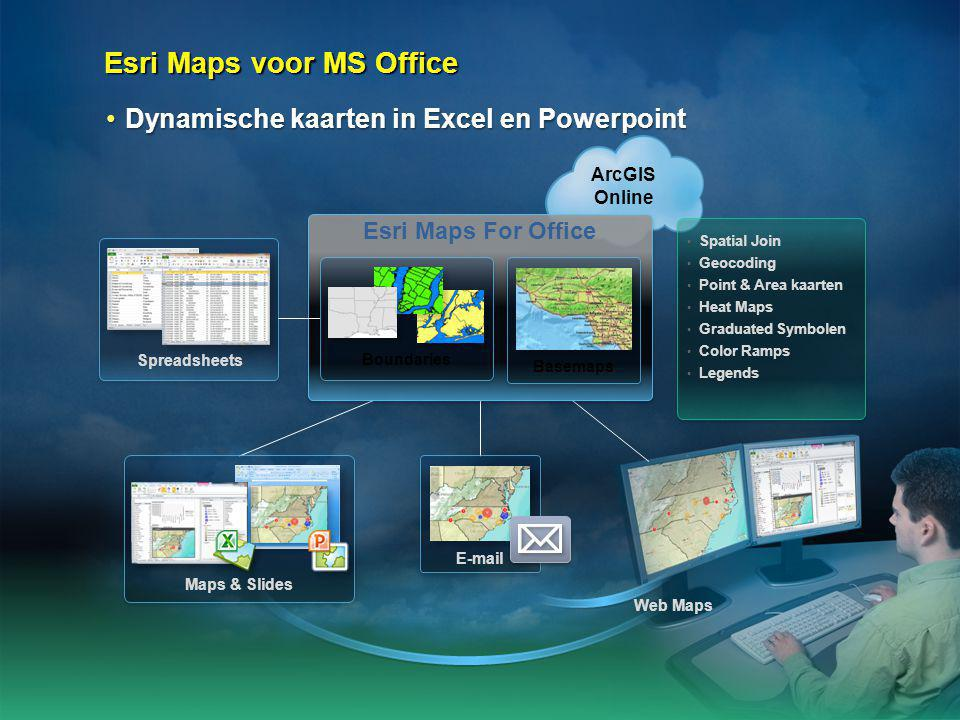 Esri Maps voor MS Office