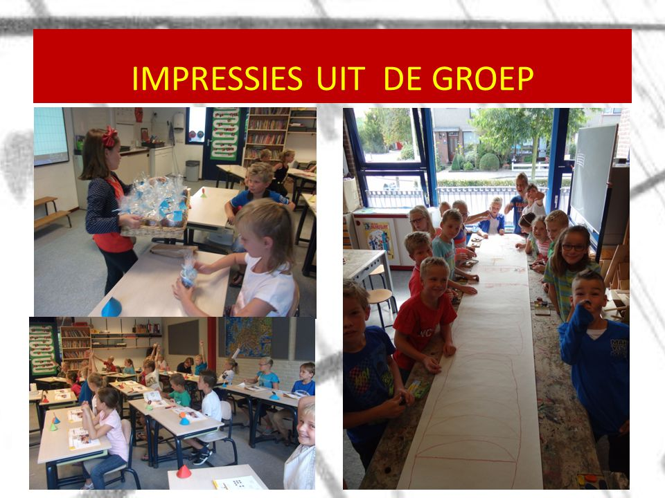 IMPRESSIES UIT DE GROEP