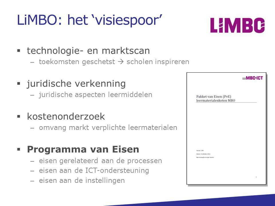 LiMBO: het 'visiespoor'