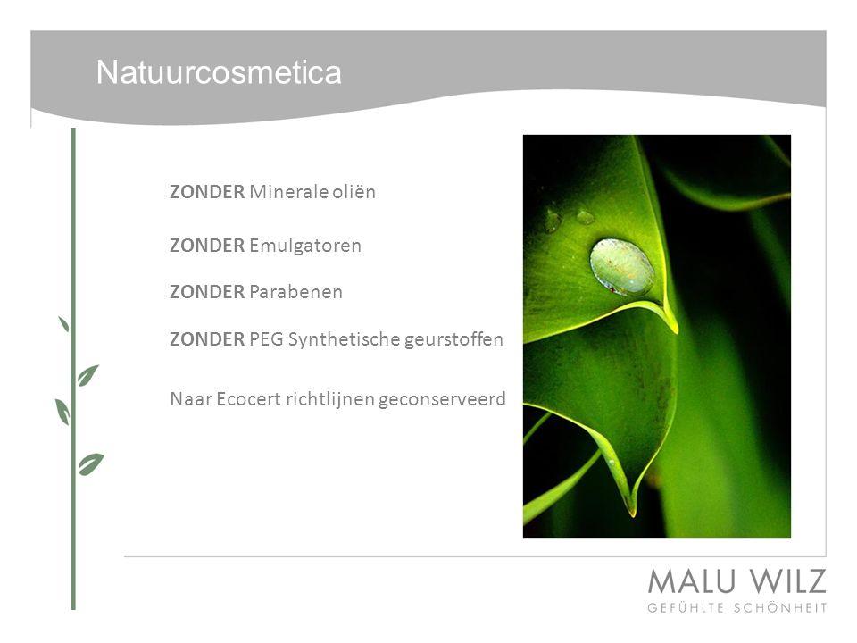Natuurcosmetica ZONDER Minerale oliën ZONDER Emulgatoren