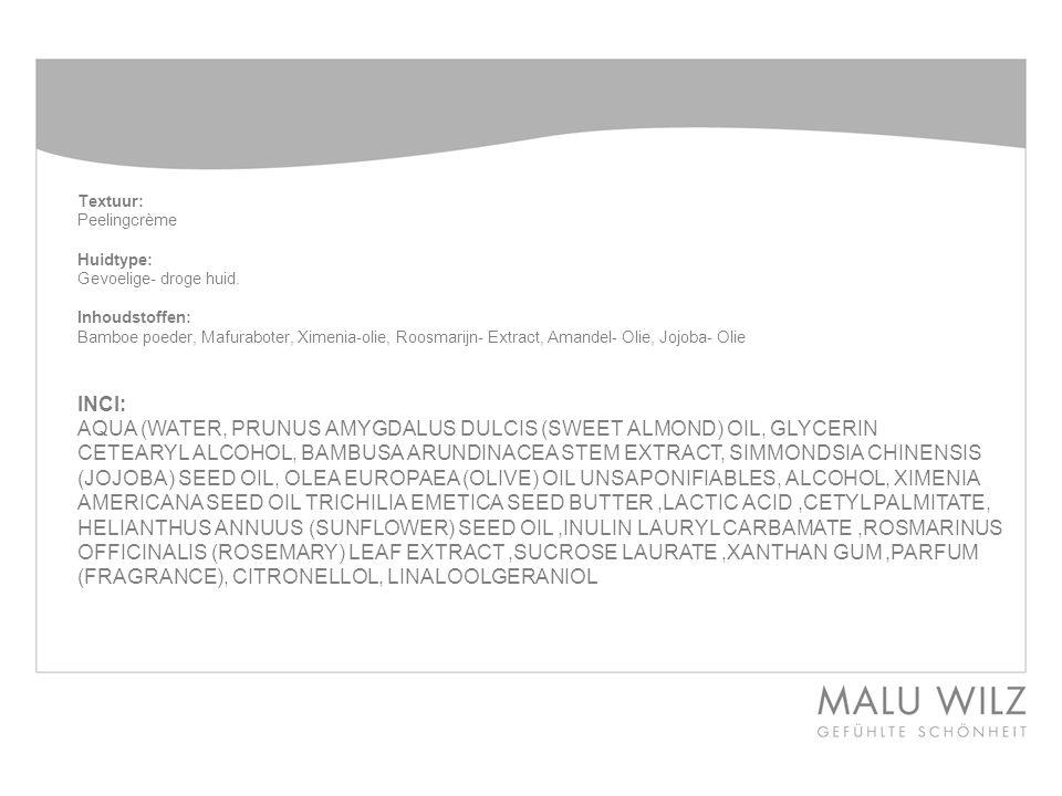 AQUA (WATER, PRUNUS AMYGDALUS DULCIS (SWEET ALMOND) OIL, GLYCERIN