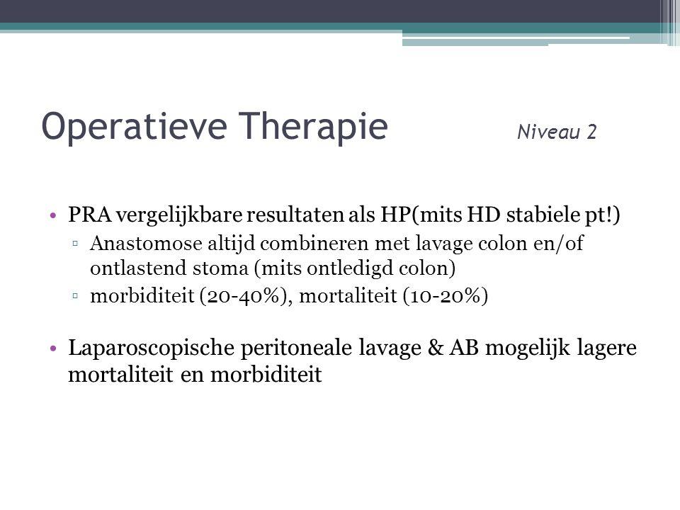 Operatieve Therapie Niveau 2
