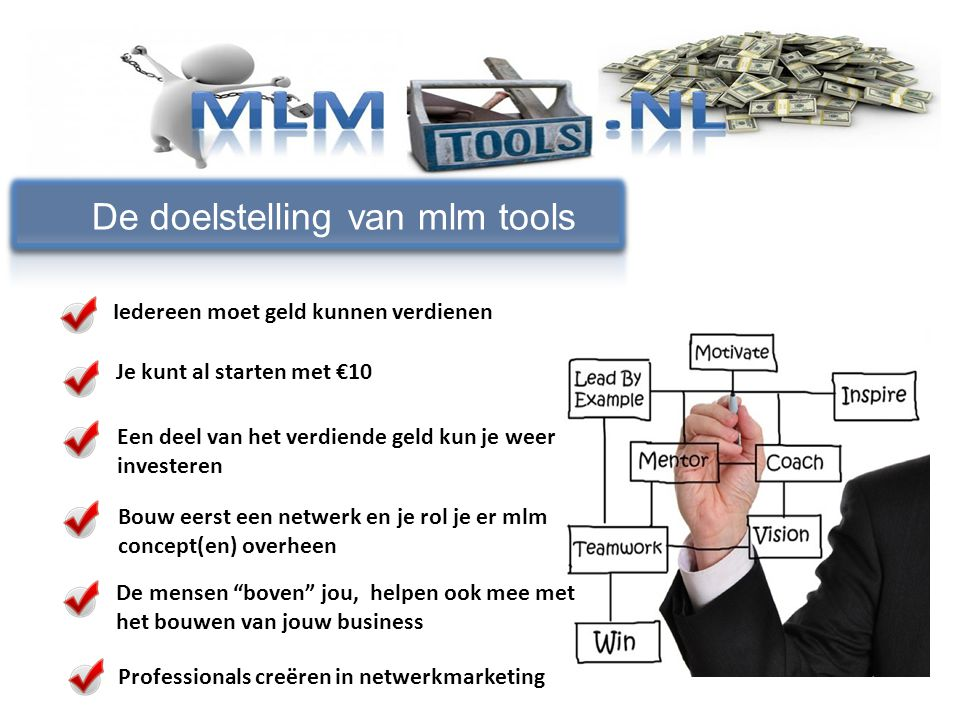 De doelstelling van mlm tools
