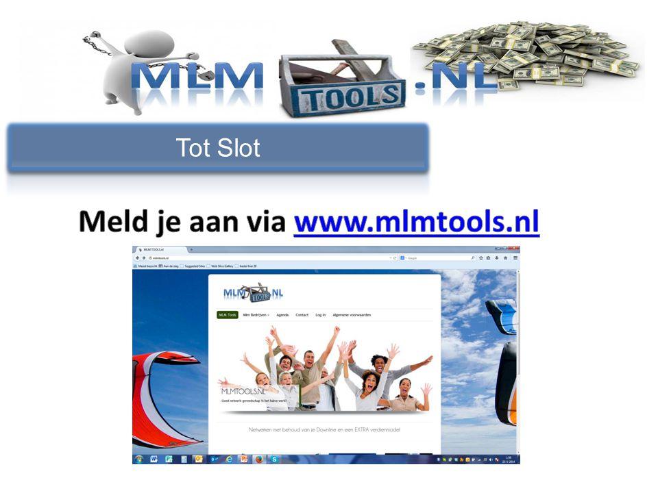 Meld je aan via www.mlmtools.nl