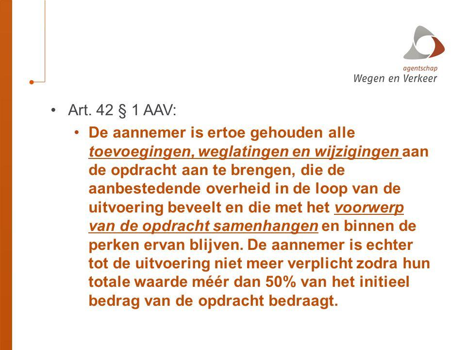 Art. 42 § 1 AAV: