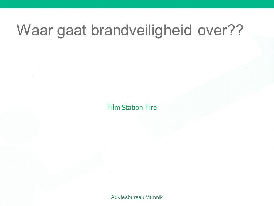 Waar gaat brandveiligheid over
