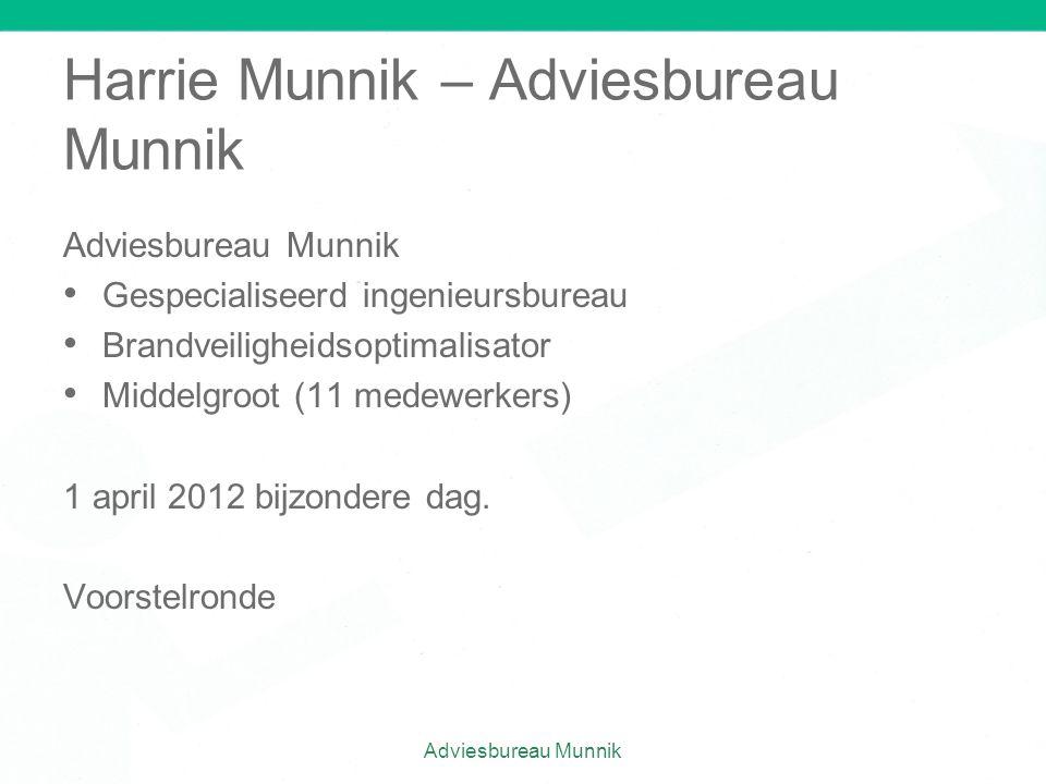 Harrie Munnik – Adviesbureau Munnik