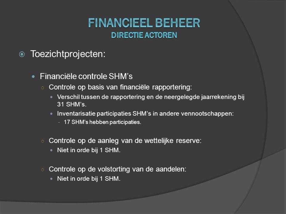 Financieel beheer Directie actoren