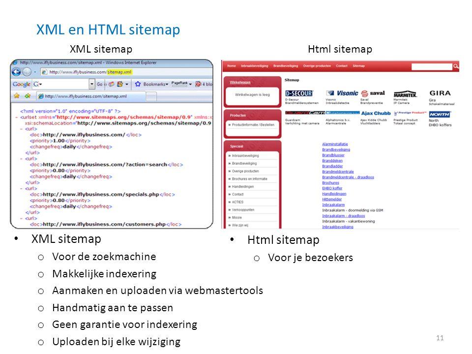XML en HTML sitemap XML sitemap Html sitemap XML sitemap Html sitemap