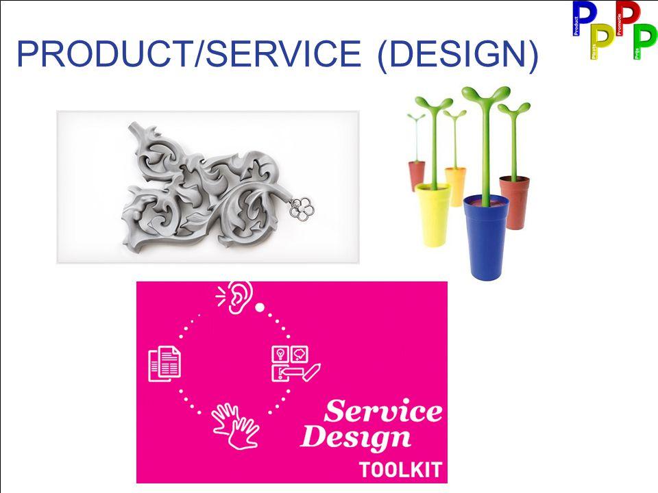 PRODUCT/SERVICE (DESIGN)