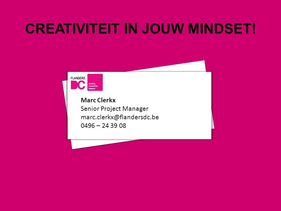 CREATIVITEIT IN JOUW MINDSET!