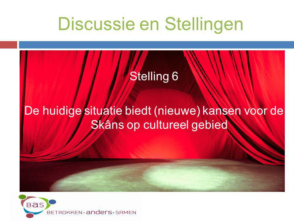 Discussie en Stellingen