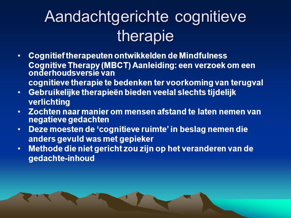 Aandachtgerichte cognitieve therapie
