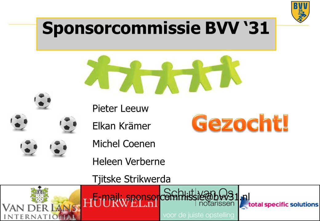 Sponsorcommissie BVV '31