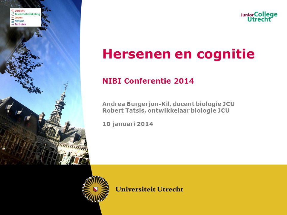 Hersenen en cognitie NIBI Conferentie 2014