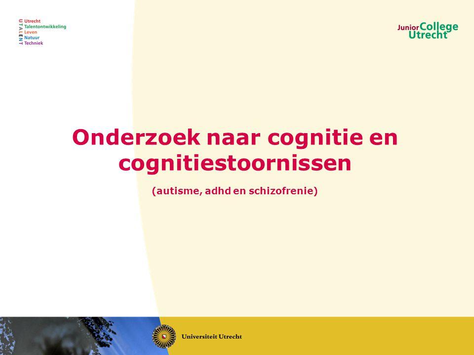 Onderzoek naar cognitie en cognitiestoornissen
