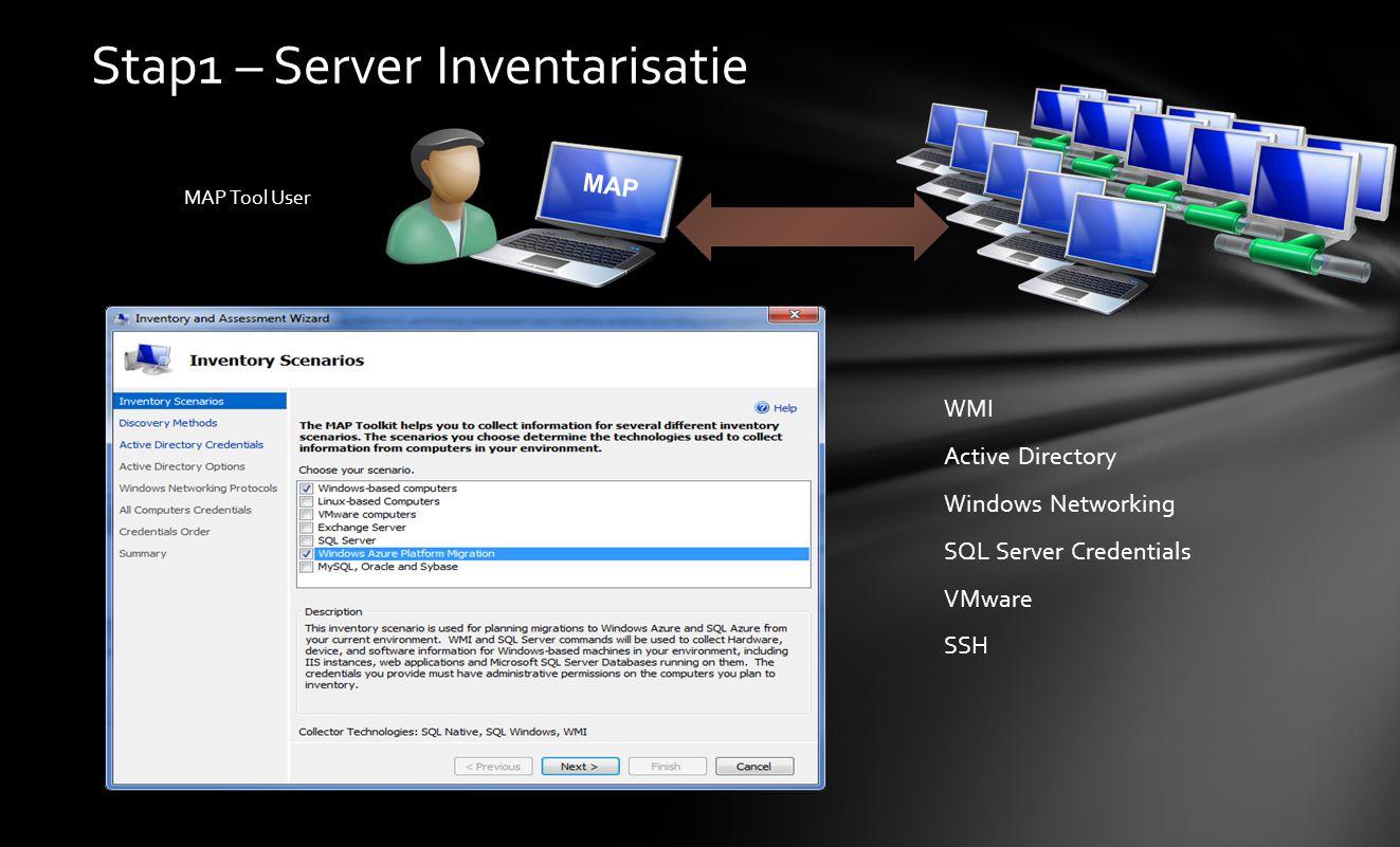 Stap1 – Server Inventarisatie