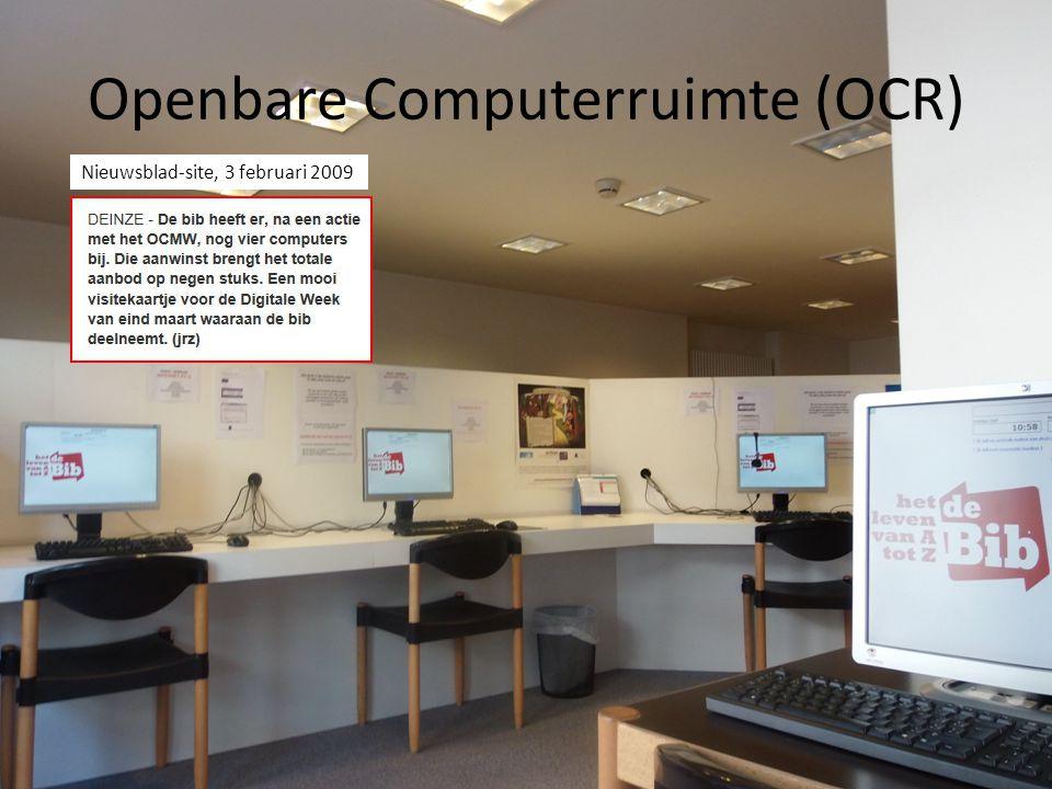 Openbare Computerruimte (OCR)