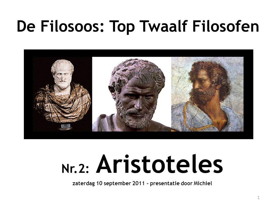 De Filosoos: Top Twaalf Filosofen