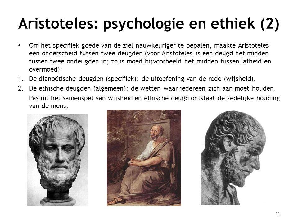 Aristoteles: psychologie en ethiek (2)