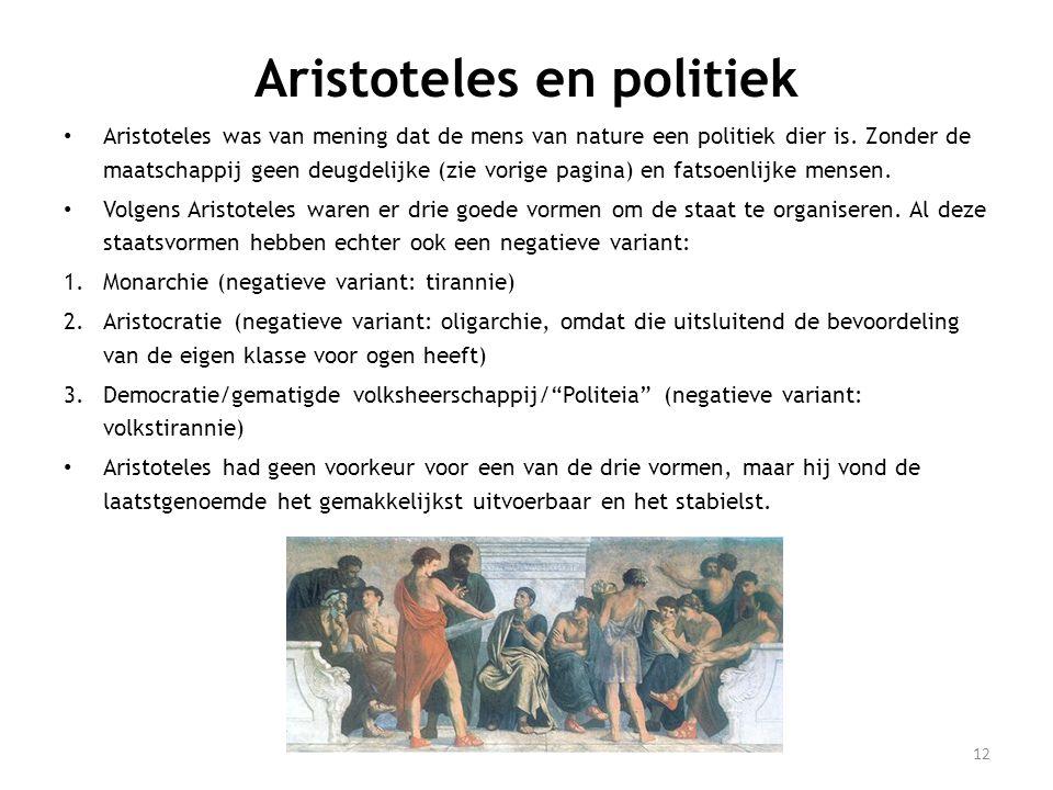 Aristoteles en politiek