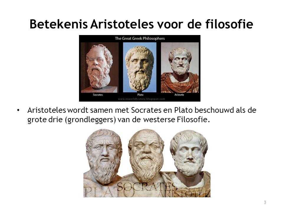 Betekenis Aristoteles voor de filosofie