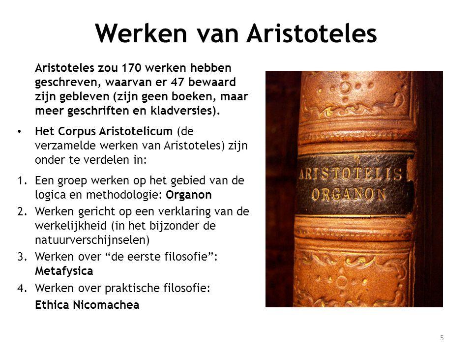 Werken van Aristoteles