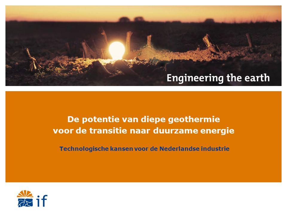 Technologische kansen voor de Nederlandse industrie