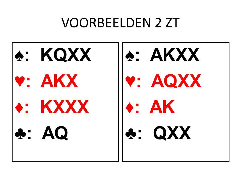 ♠: KQXX ♥: AKX ♦: KXXX ♣: AQ ♠: AKXX ♥: AQXX ♦: AK ♣: QXX