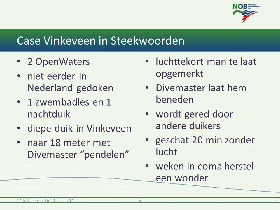 Case Vinkeveen in Steekwoorden