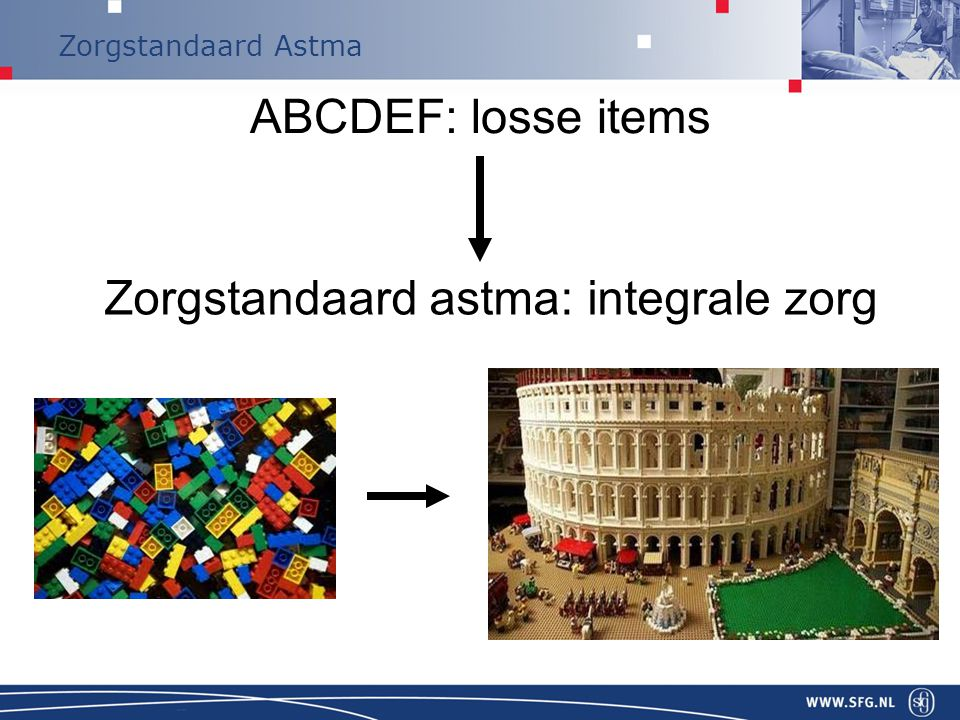ABCDEF: losse items Zorgstandaard astma: integrale zorg