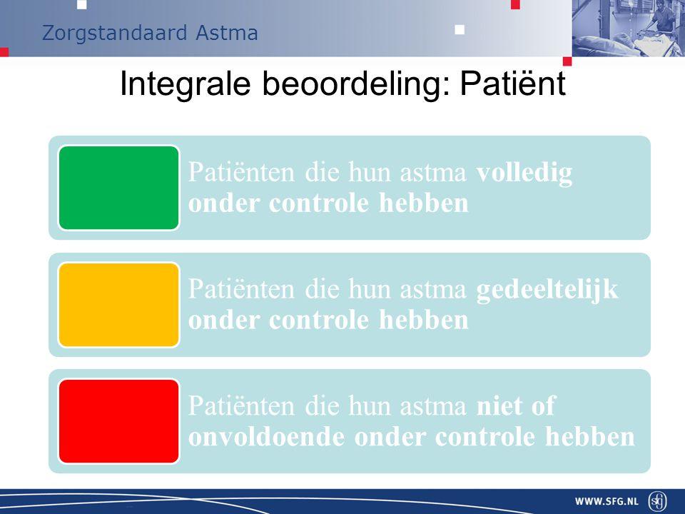 Integrale beoordeling: Patiënt