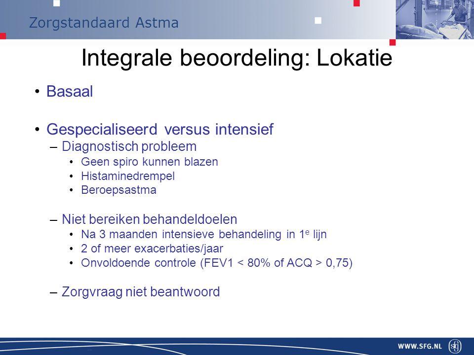 Integrale beoordeling: Lokatie