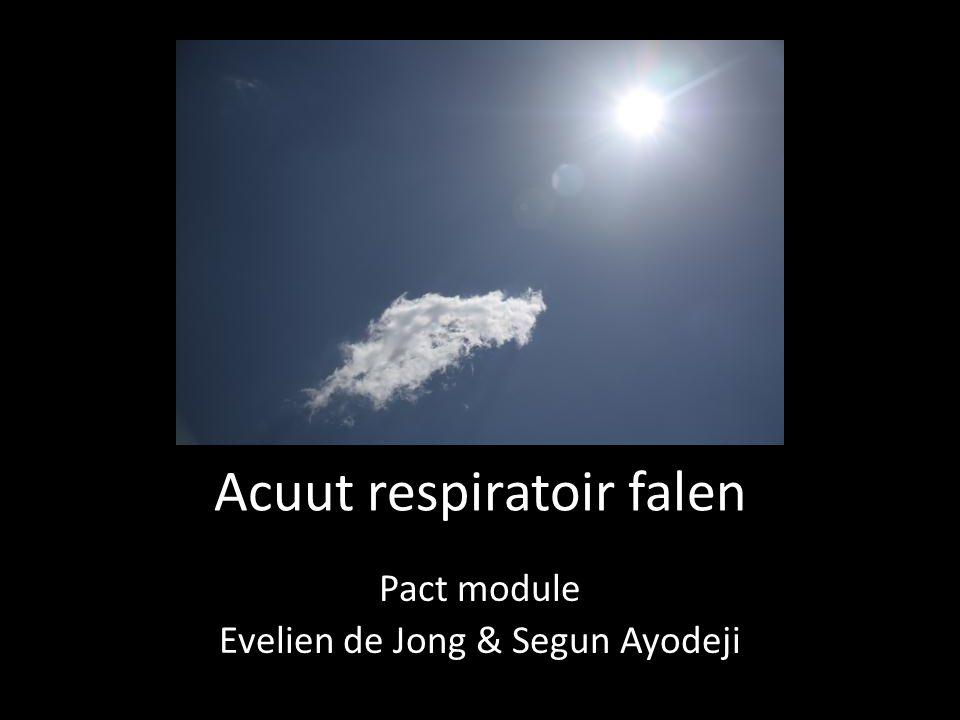 Acuut respiratoir falen
