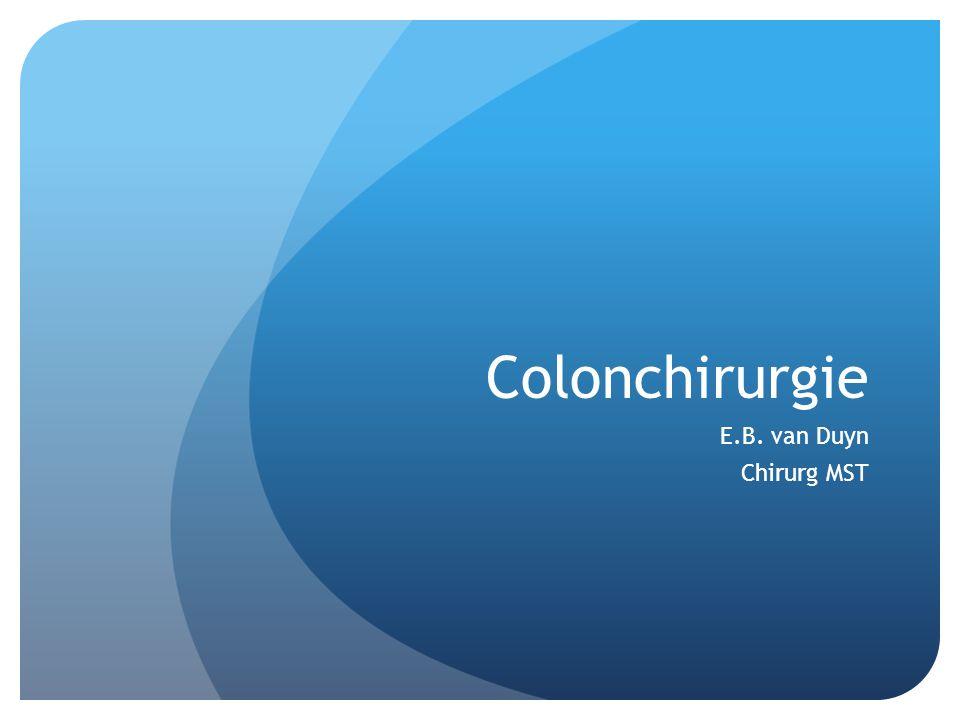 Colonchirurgie E.B. van Duyn Chirurg MST