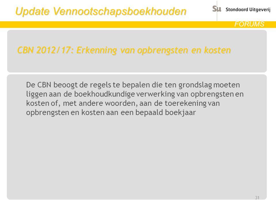 CBN 2012/17: Erkenning van opbrengsten en kosten