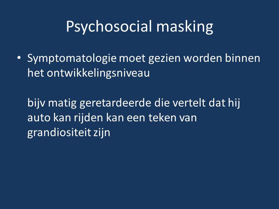 Psychosocial masking