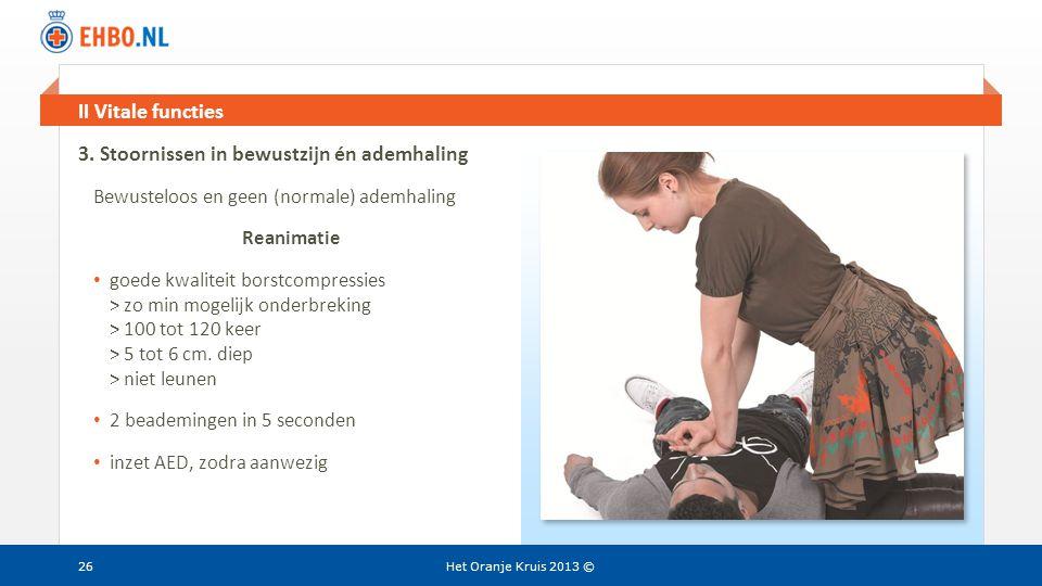 3. Stoornissen in bewustzijn én ademhaling