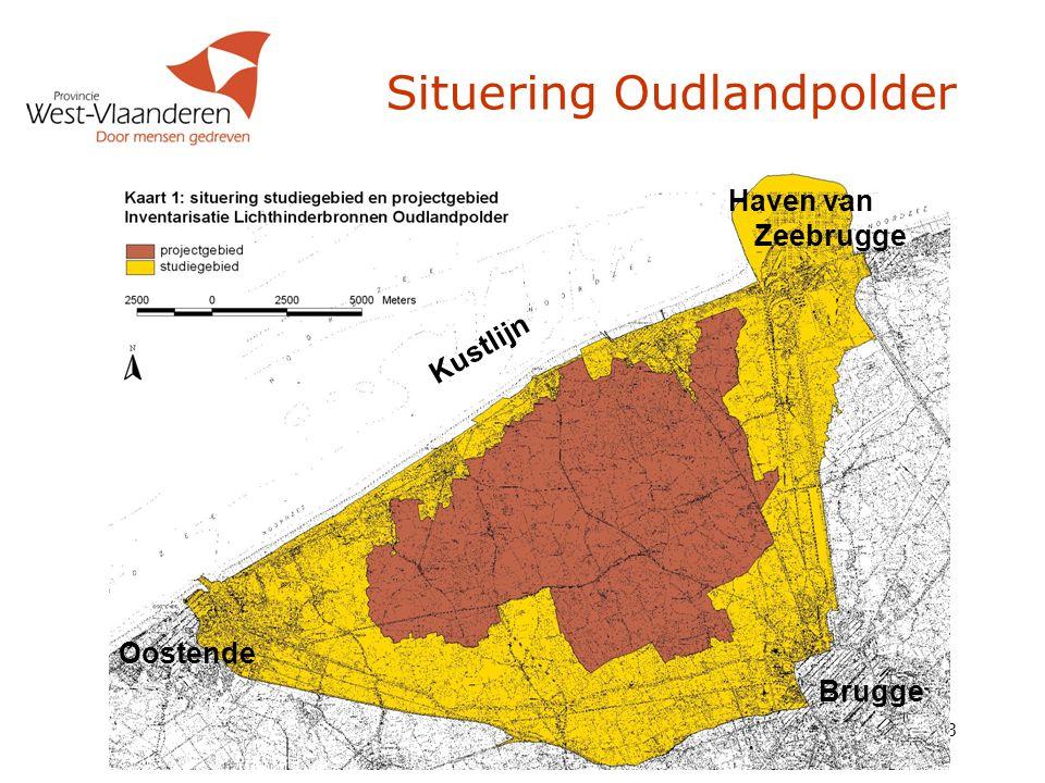 Situering Oudlandpolder
