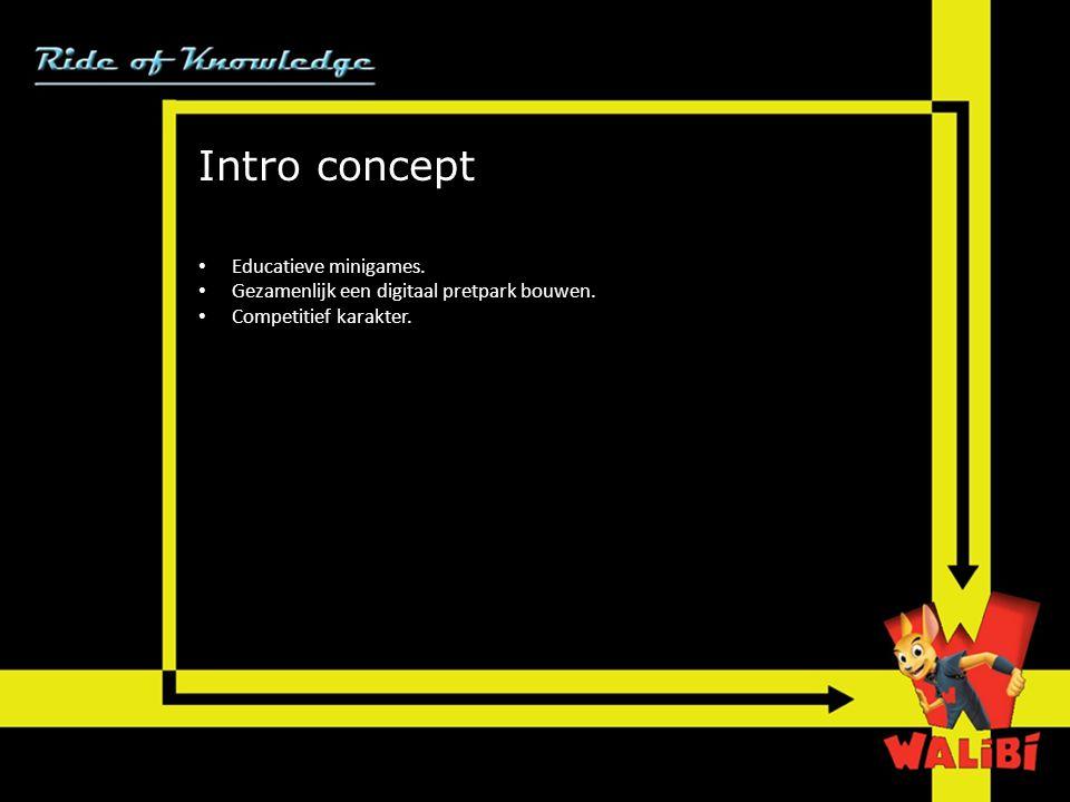 Intro concept Educatieve minigames.