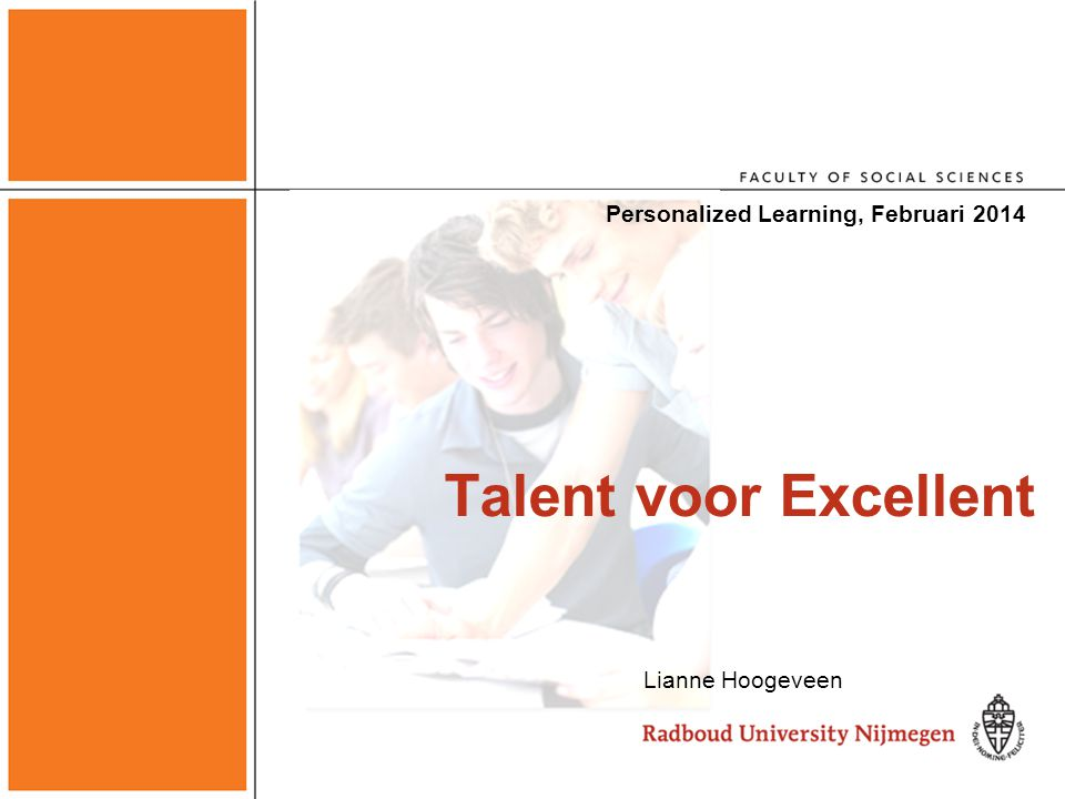 Personalized Learning, Februari 2014