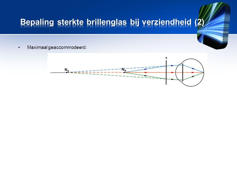 Bepaling sterkte brillenglas bij verziendheid (2)