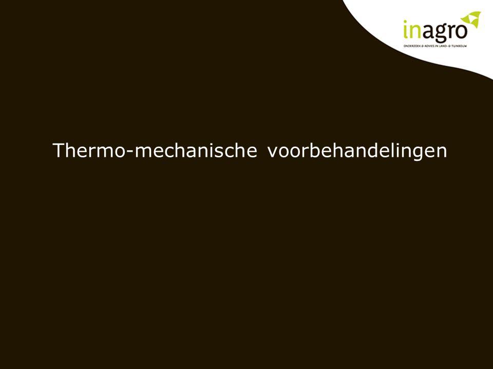 Thermo-mechanische voorbehandelingen