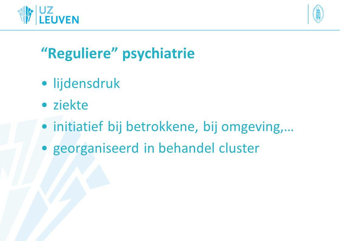 Reguliere psychiatrie