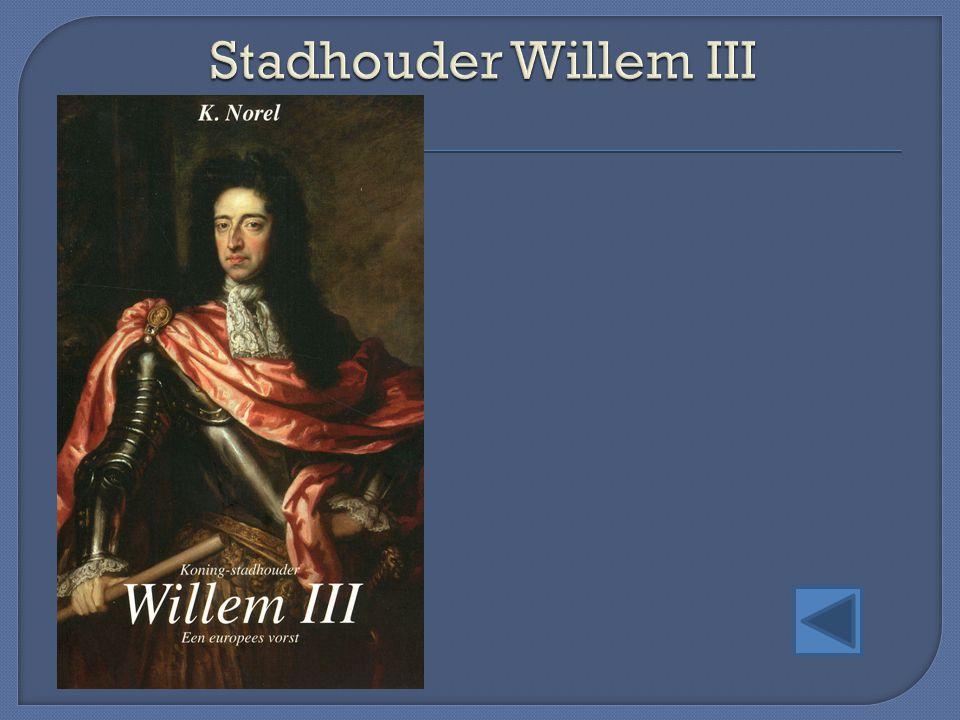Stadhouder Willem III