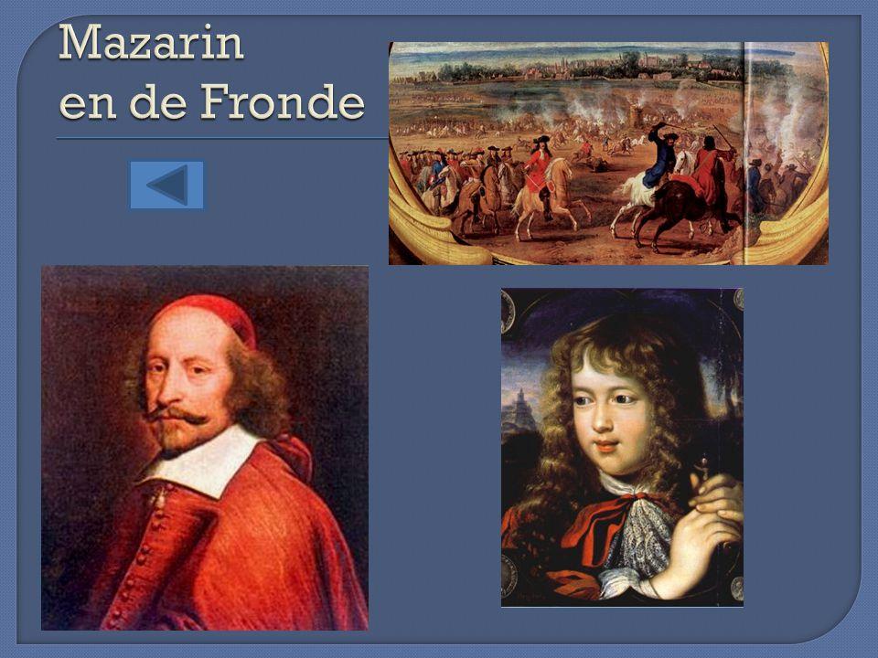 Mazarin en de Fronde